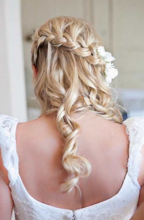 Peachy Beautiful Cascade Waterfall Braid Hairstyles Gallery Hairstyles Hairstyles For Women Draintrainus