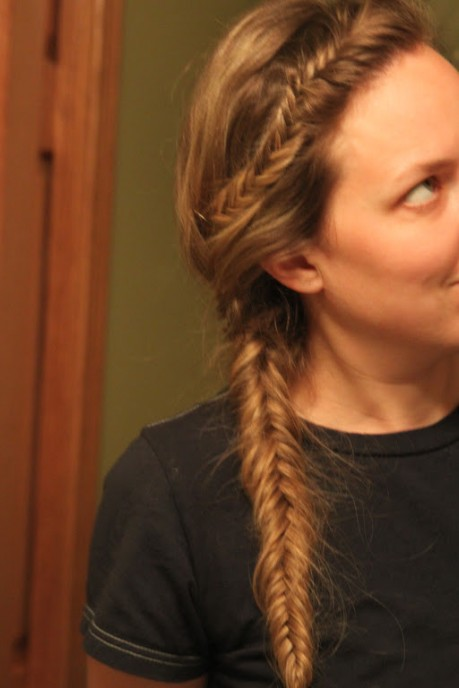 2013 Casual Fishtail French Braid for Women