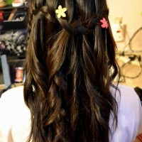 Cute Cascade Hairstyles for Girls
