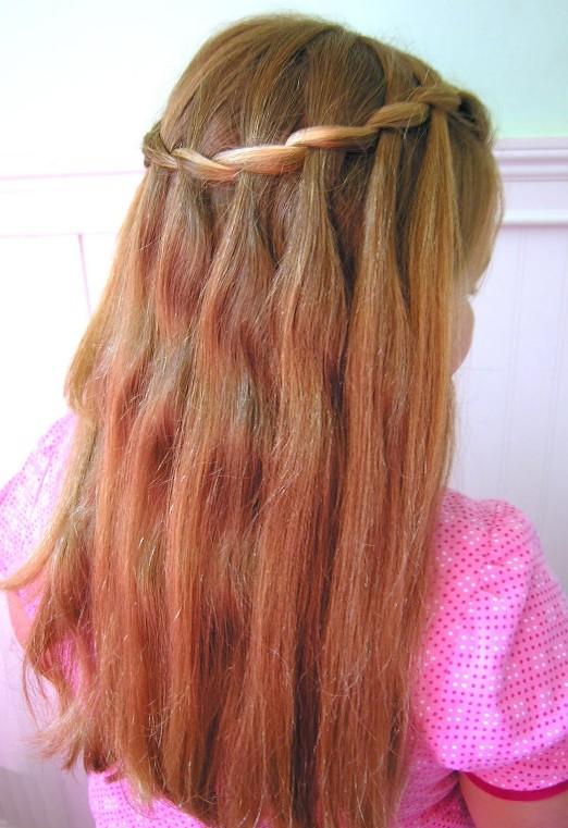 Awe Inspiring Beautiful Cascade Waterfall Braid Hairstyles Gallery Hairstyles Short Hairstyles For Black Women Fulllsitofus