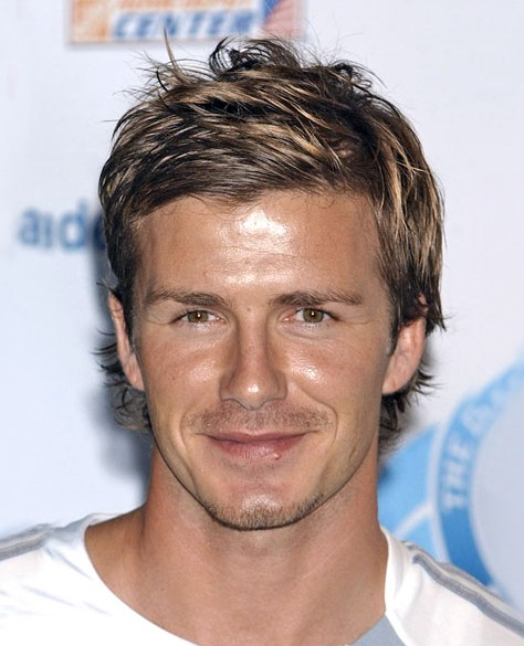 David Beckham Casual Short Hairstyle For Men Hairstyles Weekly