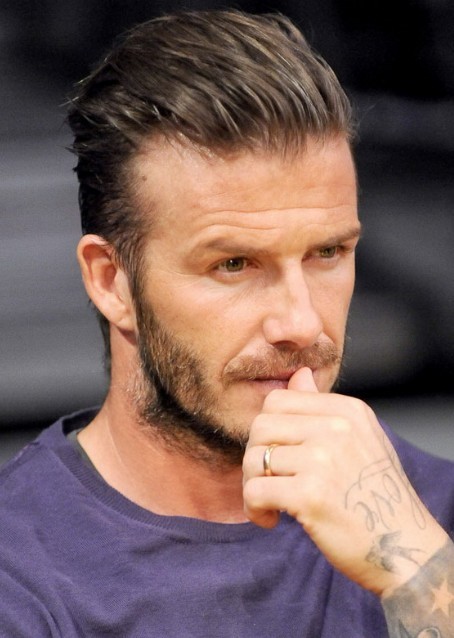 David Beckham Fashion Hairstyles - Stylish Hairstyles for Men