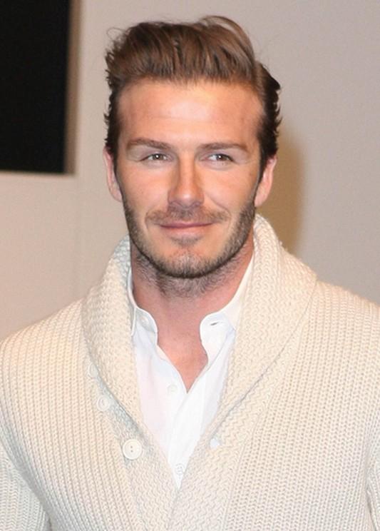 David Beckham Haircut 2012