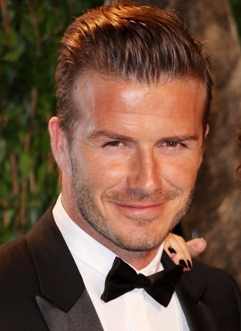 David Beckham Haircut 2013