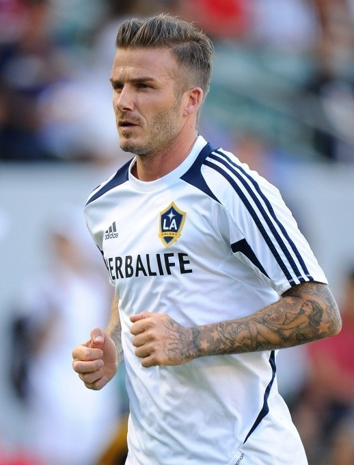 Swell David Beckham Hairstyle 2012 Side View Hairstyles Weekly Hairstyle Inspiration Daily Dogsangcom