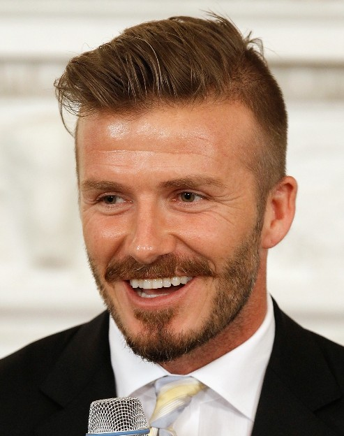 Incredible David Beckham Hairstyles Hairstyles Weekly Hairstyles For Women Draintrainus