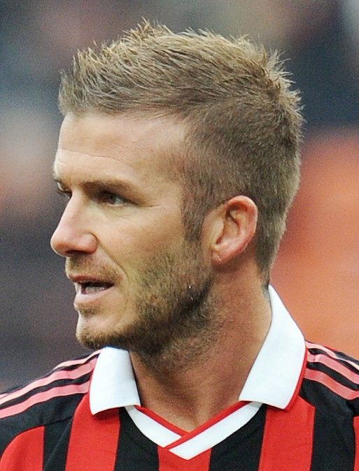 David Beckham Short Spiked Haircut For Men Hairstyles Weekly