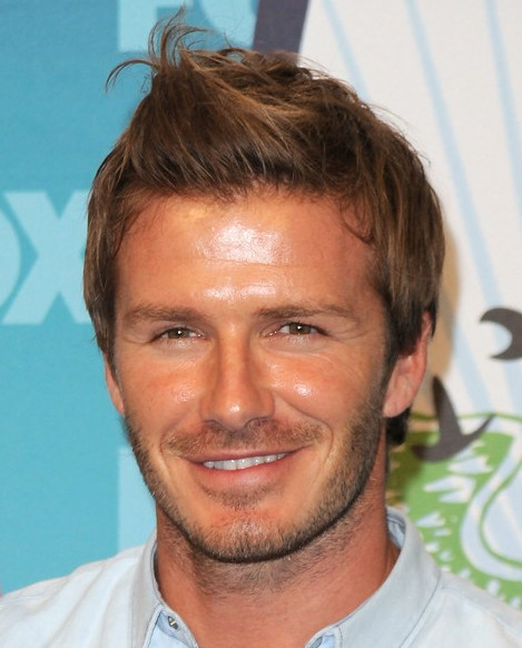 David Beckham Spiked Hairstyle for Men Short Hair