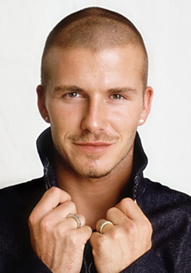 2013 - 2014 David Beckham Very Short Buzz Cut for Men