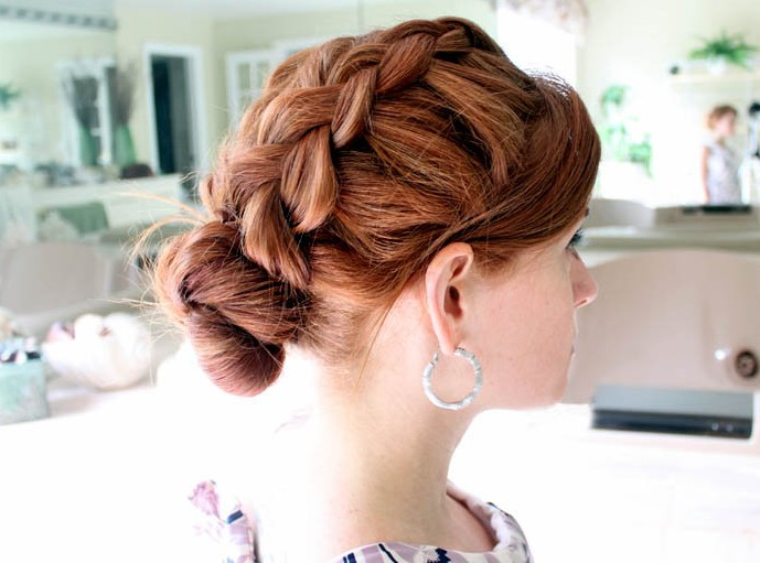 2012 - 2013 hair trends: Dutch Braid Hair Style