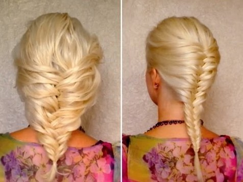 2012 -2013 Popular Braided Hairstyles for Women: French Fishtail Braid
