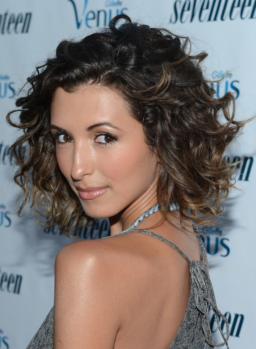 India De Beaufort Short Curly Ombre Hair Hairstyles Weekly