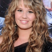 2013 - 2014 Long Tousled Curly Hairstyle for thick hair