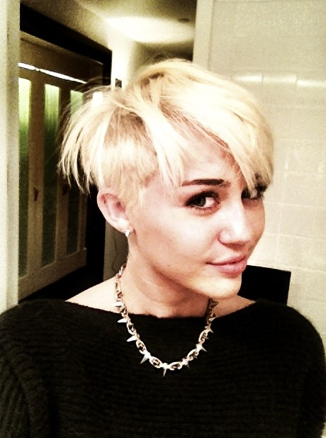 Miley Cyrus New Hairstyle Miley Cyrus Adorably Edgy New
