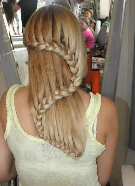 Fine Beautiful Cascade Waterfall Braid Hairstyles Gallery Hairstyles Short Hairstyles For Black Women Fulllsitofus