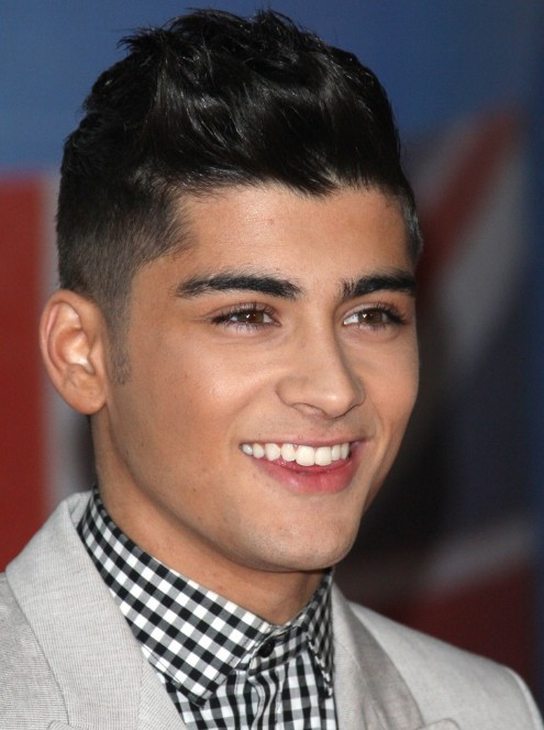 Zayn Malik Short Black Hairstyle - Trendy Short Haircut for Guys
