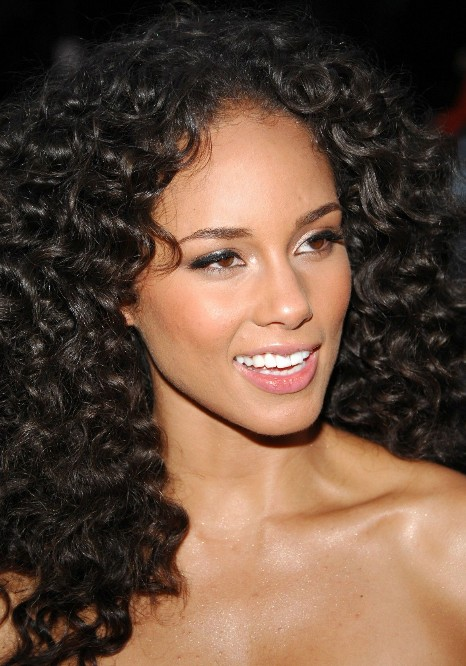 African American Long Natural Curly Hairstyle 2013