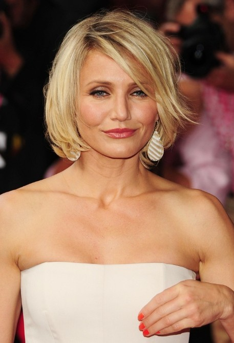 Cameron Diaz Short Hairstyles 2017