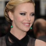 Charlize Theron Retro Twist Hairstyle