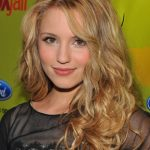 Dianna Agron Casual Long Curly Hairstyle
