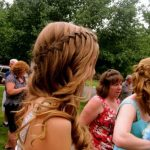 Beautiful Waterfall Braid Hairstyle for Prom