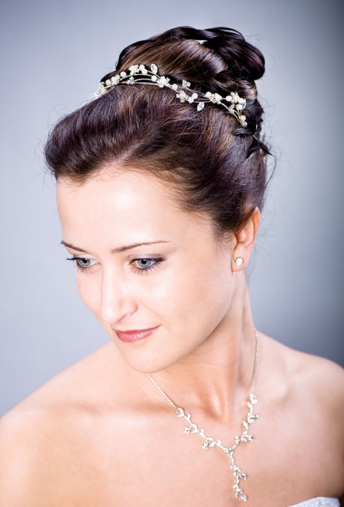 2013 Wedding Hairstyles Bride Wedding Updo