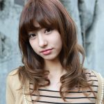 Asian shoulder length curly hairstyles 2013