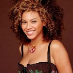 Beyonce Knowles Big Curly Hairstyles