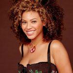 Beyonce Knowles Big Curly Hairstyles