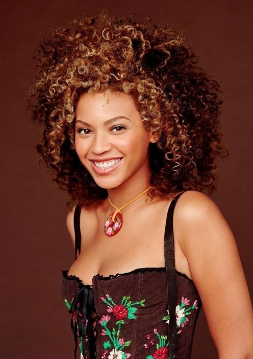 Beyonce Knowles Medium Curly Hairstyle Hairstyles Weekly