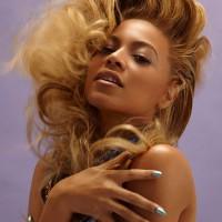Beyonce Knowles Long Blonde Hairstyles
