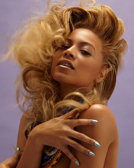 Beyonce Knowles Long Blonde Hairstyles