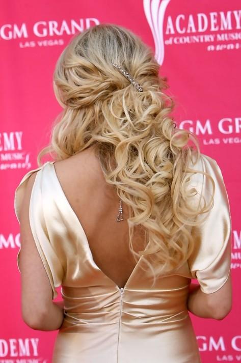 ... Underwood Half Up Half Down Hairstyles with Curls - Hairstyles Weekly