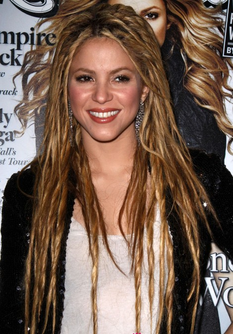 Celebrity Dreadlocks Hairstyles