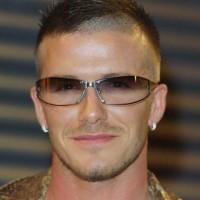 Cool Short Haircut for Men: David Beckham's Cool Edgy Haircut