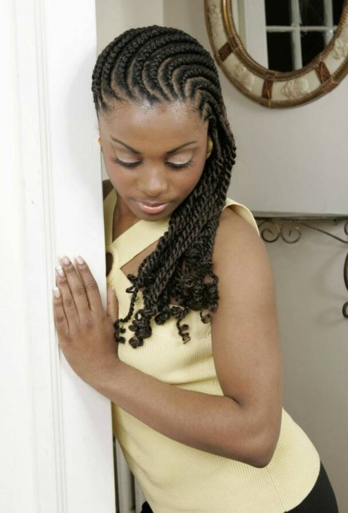 Cornrows Designs for Women with long hair