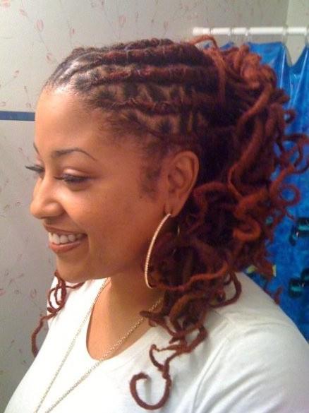 Strange Dreadlocks Hairstyles For Women Hairstyles Weekly Short Hairstyles Gunalazisus
