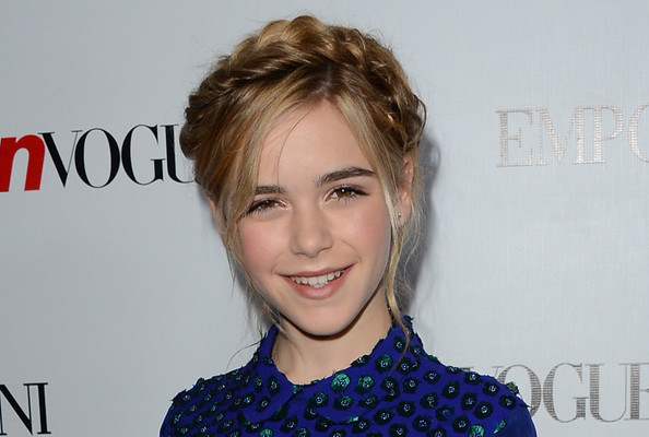 Sensational Kiernan Shipka Tousled Twist Braided Updo Hairstyle Hairstyles Hairstyle Inspiration Daily Dogsangcom