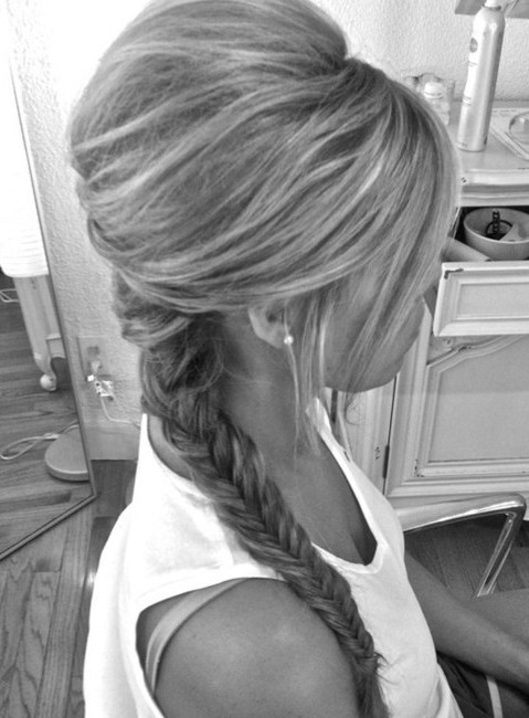 Tremendous Cute Fishtail Braid Hairstyles Braids Hairstyle Inspiration Daily Dogsangcom