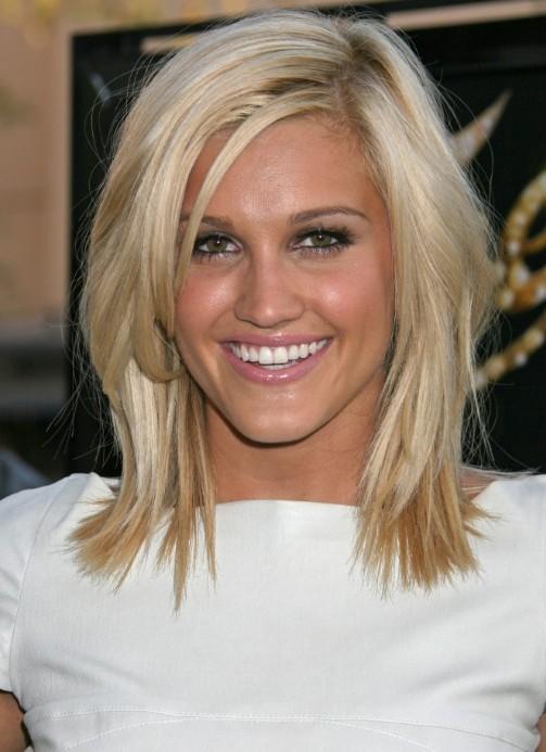 Wondrous Cute Medium Length Hairstyle Medium Straight Hair Style Short Hairstyles Gunalazisus