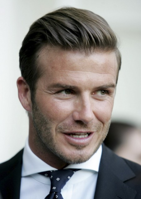 David Beckham Fashion Business Hairstyle For Men Hairstyles Weekly - David beckham slicked back hairstyle