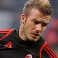 David Beckham Fauxhawk 2012