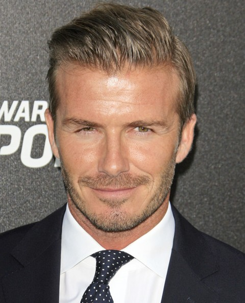 David Beckham Hairstyles 2013 : Formal Short Straight Haircut for Men