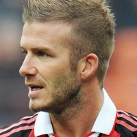 David Beckham Short Spiked Haircut for Men