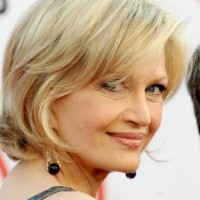 Diane Sawyer Blonde Chic Hairstyle