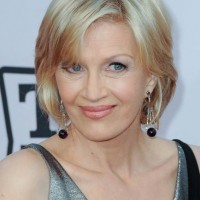 Diane Sawyer Short Bob Hairstyle