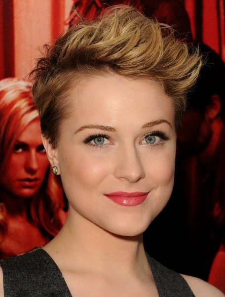 tips on styling short hair hairstyling tips for with a pixie haircut 2773 | Evan Rachel Wood Short Pixie Hair Style