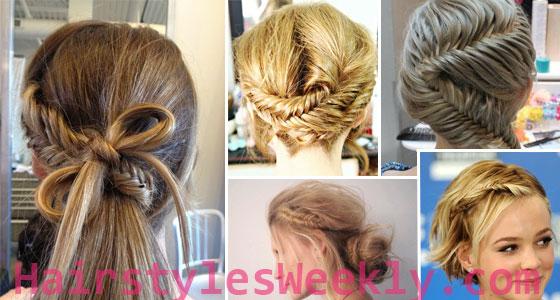 Outstanding Fishtail Braid Hairstyles 2013 Hairstyles Weekly Short Hairstyles Gunalazisus