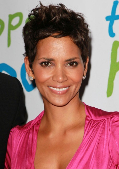 Halle Berry Pixie Haircut For Women Over 40s