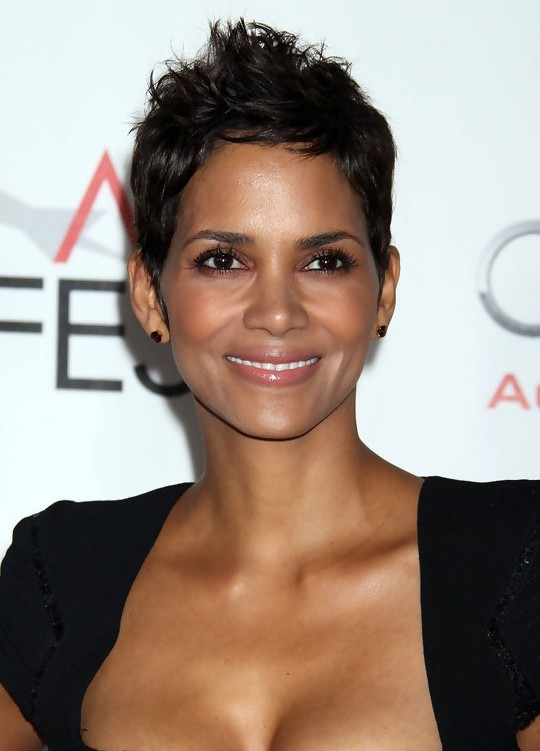 Halle Berry Short Pixie Haircut Hairstyles For Women Over